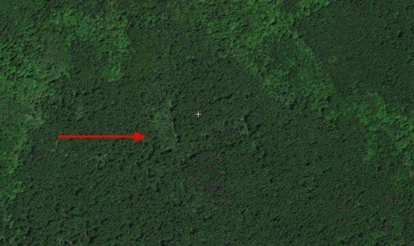 Поиск мест для копа по спутнику