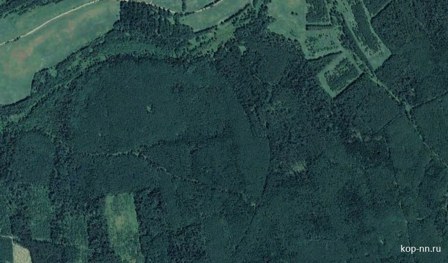 Поиск по спутниковым снимкам