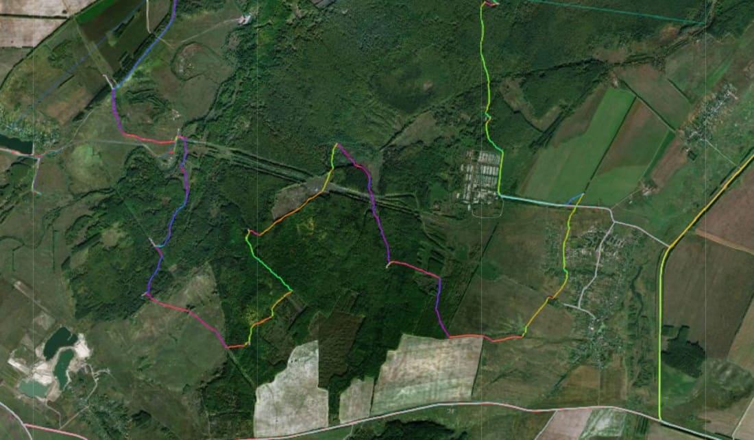 Туристические маршруты GPS трек